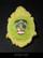 Sugarskull brooch, Yellow Mellow (13)