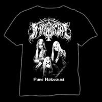 IMMORTAL pure holocaust T-paita