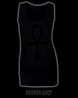 Ankh mekko, musta painatus