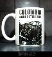 Colombia Narco battle zone -mug