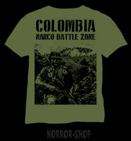 Colombia Narco Battle Zone, T-shirt
