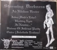 Storming Darkness - Ad Nihilum Venire (CD, käytetty)