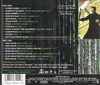 Various – The Matrix Reloaded (Music From And Inspired By The Motion Picture) (2 CD, käytetty)