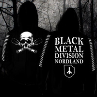 Black Metal Division Nordland  (vetoketjullinen huppari)