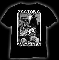 Saatana on ystävä t-shirt