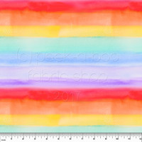 Sateenkaaren värit uimashortsikangas
