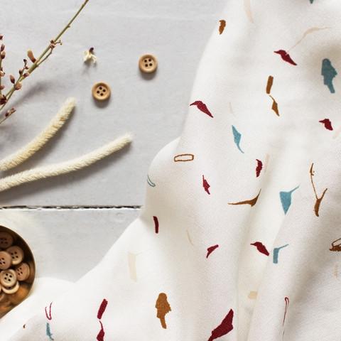 Atelier Brunette Tabby Shell kudottu viskoosi