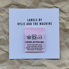 Ompelumerkit 'LOOK AFTER ME' Kylie and the Machine