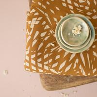 Atelier Brunette Shade Ochre kudottu viskoosi