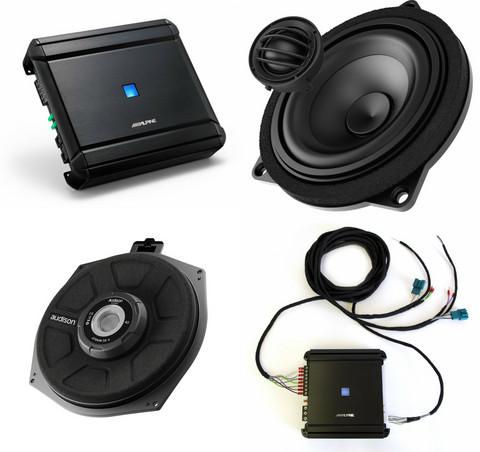 Audiokit BMW perusaudion päivityspaketti 3