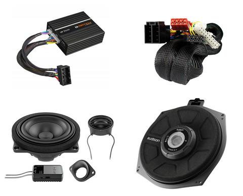 Audiokit BMW perusaudion päivityspaketti 4 (DSP)