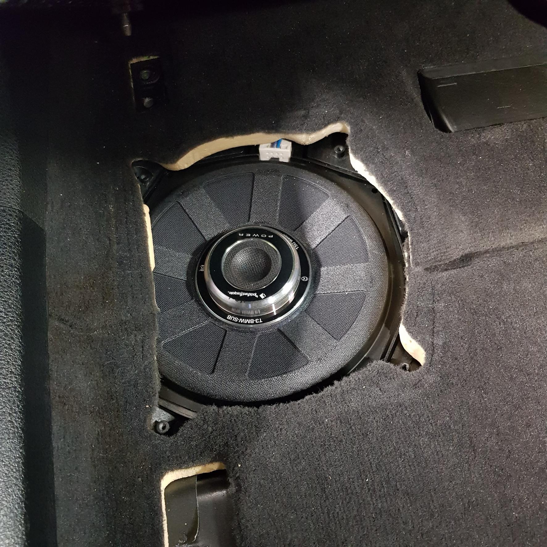 Rockford Fosgate Power T3-BMW-SUB