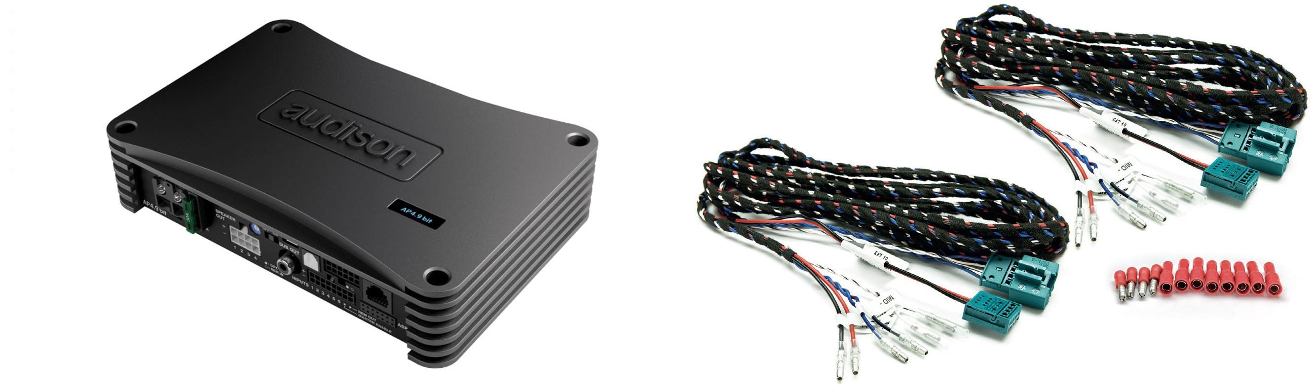Audison AP4.9 bit vahvistimen asennus ja säätäminen BMW perusaudioon