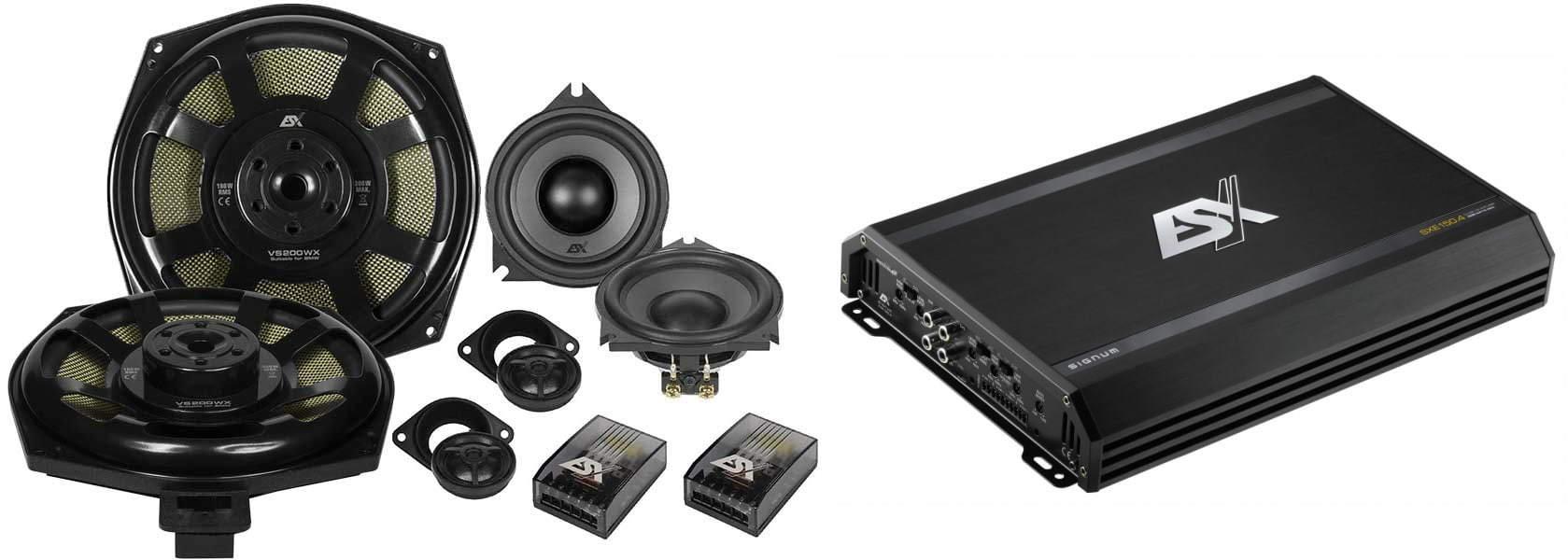 Esittelyssä ESX Audio BMW mallikohtaiset kaiuttimet ja päivityspaketit