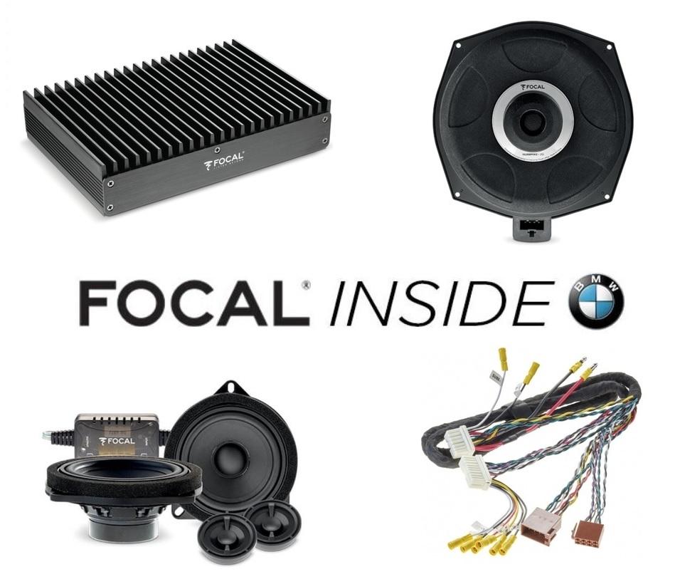 Esittelyssä Focal INSIDE BMW mallikohtaiset kaiuttimet ja päivityspaketit