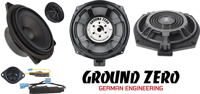 Esittelyssä uudet Ground Zero GZCS 100BMW-SQ+ erillissarja ja GZCS 200BMW-SW4 bassot