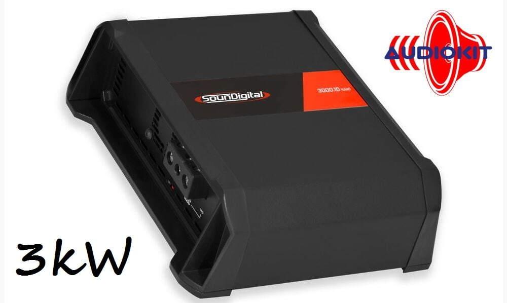Testissä SounDigital SD3000.1D NANO monovahvistin