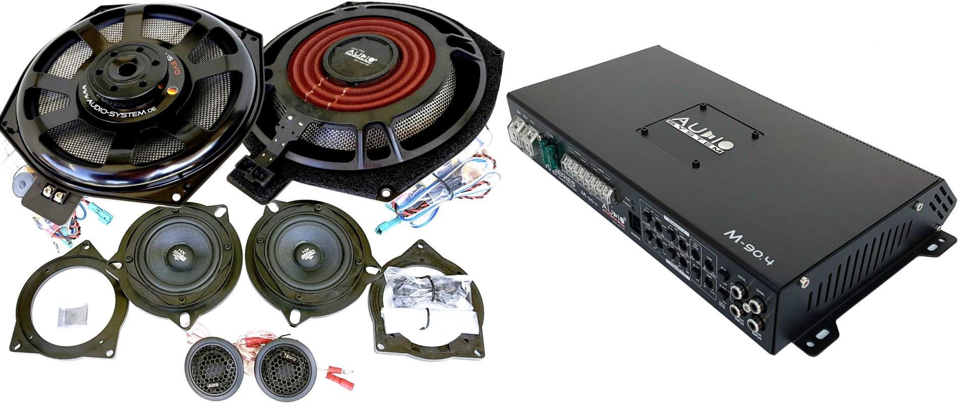 Esittelyssä Audio System BMW mallikohtaiset kaiuttimet ja päivityspaketit