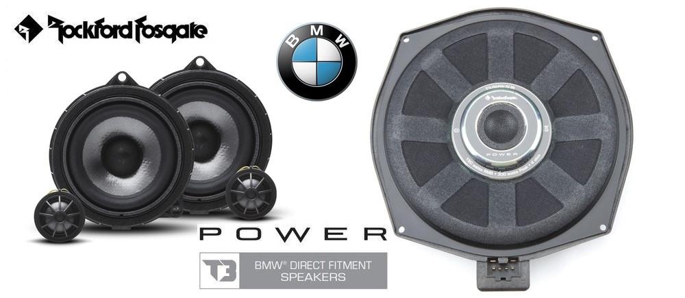 Esittelyssä Rockford Fosgate BMW mallikohtaiset kaiuttimet