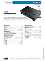 Audison Prima AP1 D