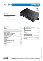 Audison Prima AP4 D