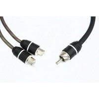 FOUR Connect Stage2 RCA Y-haaroitin 1M - 2F