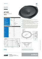 Audison AP 690 midbassot