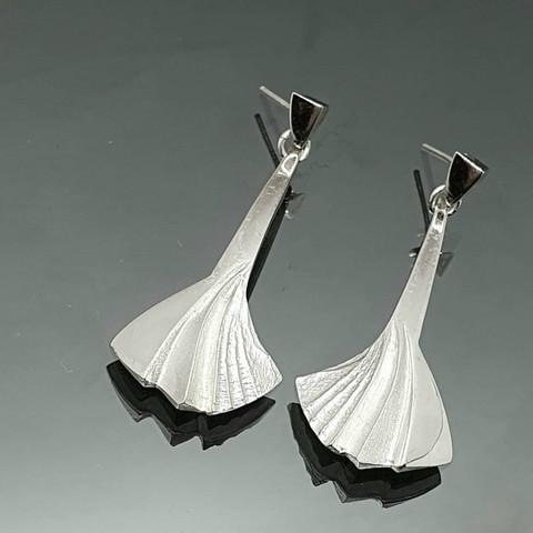 Snowfly earrings