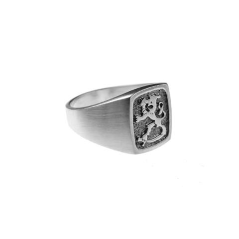 Finnish Lion emblem ring