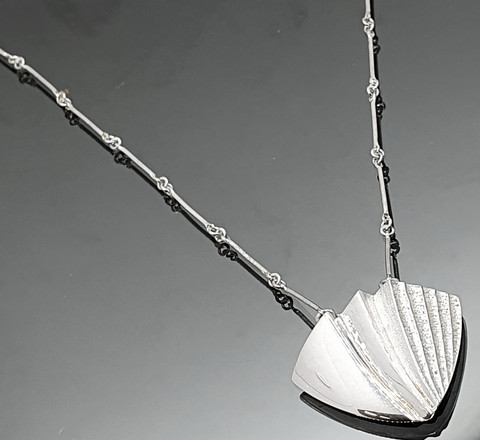 Snowfly necklace