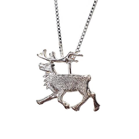 Running Reindeer pendant