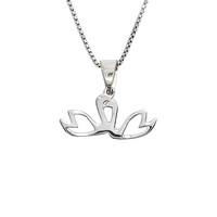 Swan Couple pendant