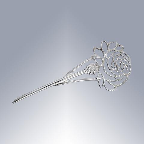 Äitienpäivä-ruusu rintaneula lyhyt