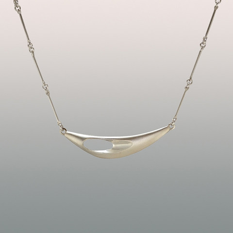 Silver necklace Puikkari
