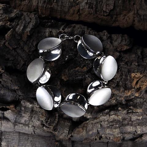 Vintage silver bracelet Blue Dunes