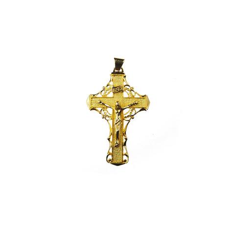 Upea kultainen risti