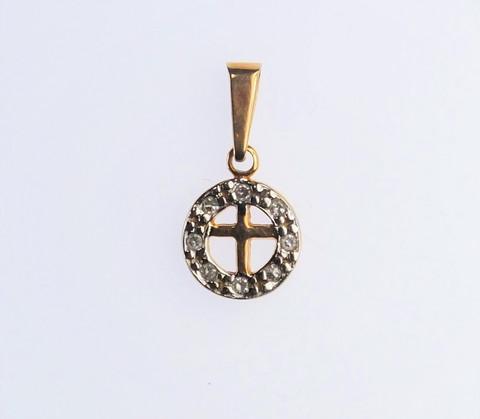 Kultainen timanttiristi