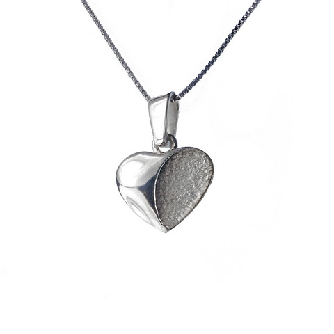 Hopeinen sydän