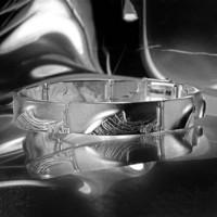 Vintage silver bracelet Chilled Champagne