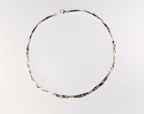 Silver necklace Solina