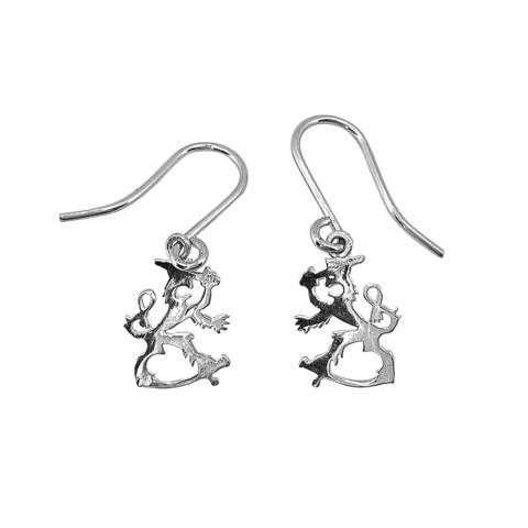 Mini size Finnish Emblem Lion earrings