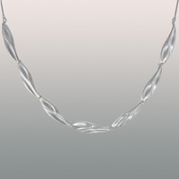 Silver necklace Winter Swell
