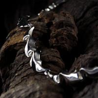 Vintage silver collier Riptide