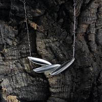 Necklace Silver Colibri