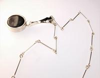 Silver necklace Black Lagoon
