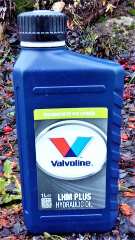 Valvoline LHM Plus hydrauliöljy 1l