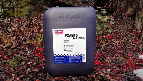 Teboil Power D 10w-30 moottoriöljy 20l