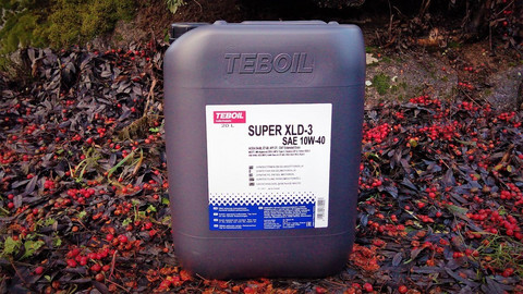 Teboil Super XLD-3 10W-40 moottoriöljy 20l