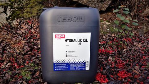 Teboil Hydraulic Oil 22 20l, Hydrauliöljy