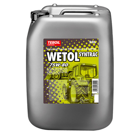 Teboil Wetol Syntrac 75w-80 20l, 5w-20